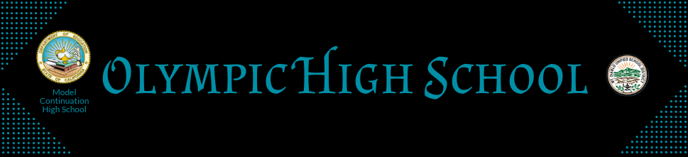 Olympic High School  Logo